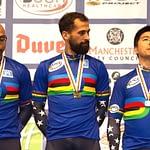 Podium - UCI Track Masters World Championships 2015