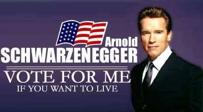 Arnold Scharzenegger Campaign
